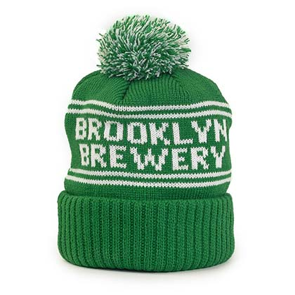 BROOKLYN BREWERY Green Winter Hat