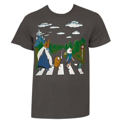 ADVENTURE TIME Beatles Tee Shirt