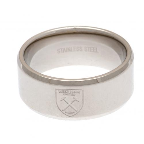 West Ham United F.C. Band Ring Medium