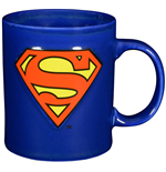 Superman Mug Dark Logo