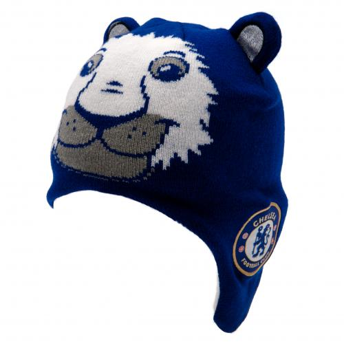 Chelsea F.C. Knitted Hat Junior Lion