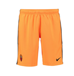 2016-2017 AS Roma Nike Third Shorts (Bright Citrus)