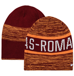 2016-2017 AS Roma Nike Reversible Beanie (Orange-Red)