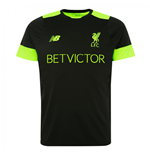 2016-2017 Liverpool Pro Training Shirt (Black)