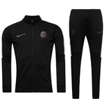 2016-2017 PSG Nike Knit Tracksuit (Black) - Kids