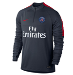 2016-2017 PSG Nike Drill Top (Navy) - Kids