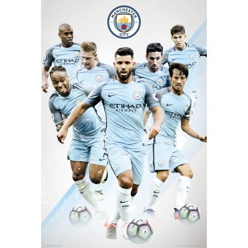 Manchester City F.C. Poster Players 21