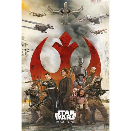 Star Wars Rogue One Poster Rebels 242