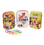 Disney Classic 3 Tin Boxes - Classic Film Posters Yellow