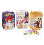Disney Classic 3 Tin Boxes - Classic Film Posters Blue