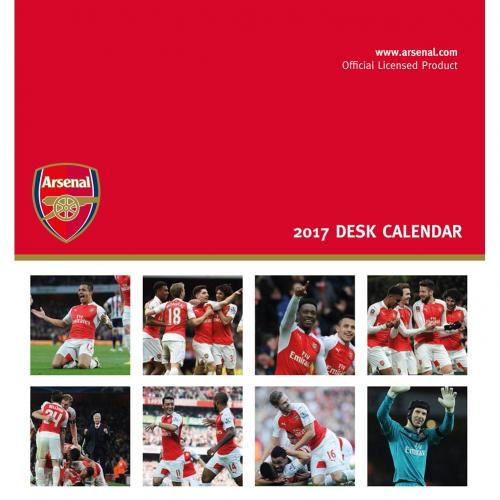 Arsenal F.C. Desktop Calendar 2017