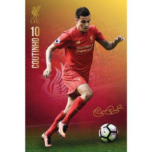 Liverpool F.C. Poster Coutinho 64
