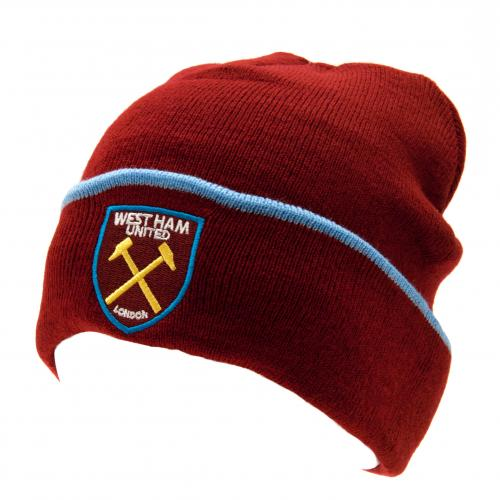 West Ham United F.C. Knitted Hat TU