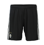 2016-2017 Juventus Adidas Home Shorts (Black)