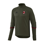 2016-2017 AC Milan Adidas Training Top (Night Cargo)