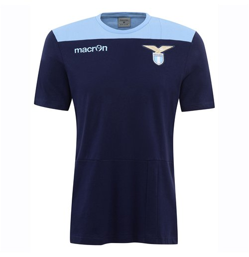 size 40 66bbb e5083 2016-2017 Lazio Cotton T-Shirt (Navy)