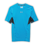 Under Armour Heatgear CoolSwitch SS Compression Tee (Electric Blue)