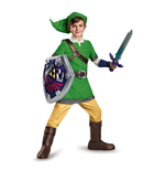 Legend of Zelda Kids Deluxe Costume Link  (10-12)