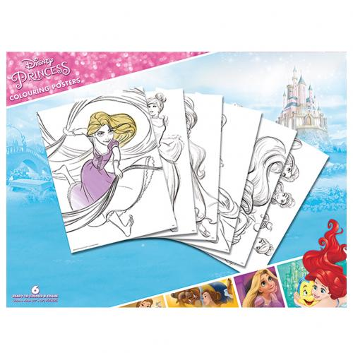 Disney Princess Colouring Poster Pack