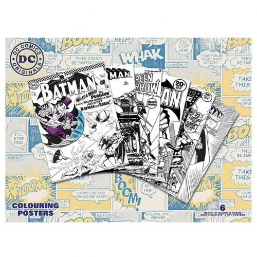 DC Comics Colouring Poster Pack