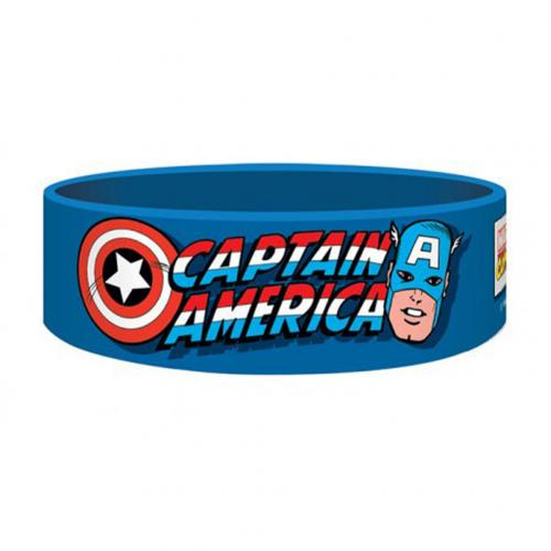 Marvel Comics Silicone Wristband Captain America