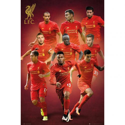 Liverpool F.C. Poster Players 76
