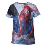 Spiderman - Boys t-shirt mesh web shooter