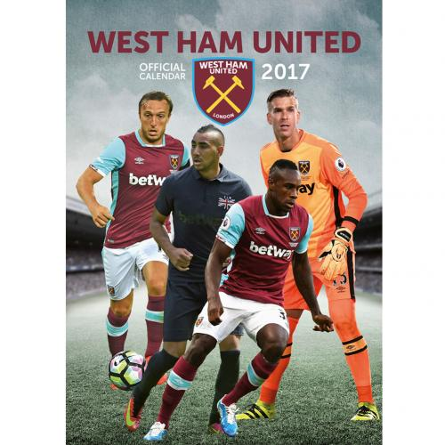 West Ham United F.C. Calendar 2017