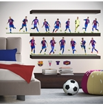 Barcelona Wall Stickers 16 Players