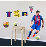 Barcelona Wall Stickers Suarez