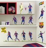 Barcelona Wall Stickers 11 Players
