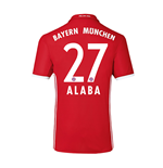 2016-17 Bayern Home Shirt (Alaba 27)