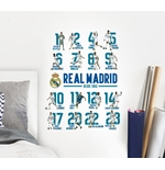 Real Madrid Wall Stickers 16 Players