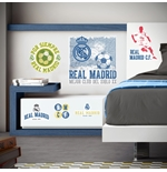 Real Madrid Wall Stickers Logo Vintage