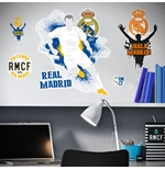 Real Madrid Wall Stickers Logo Urban