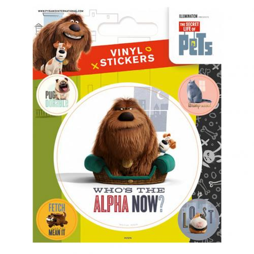 The Secret Life Of Pets Stickers