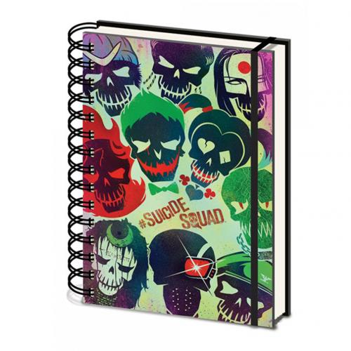 Suicide Squad A5 Notebook