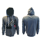 Wolverine - Charcoal. Claws Hoody