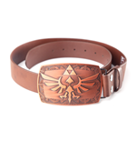 Zelda - Belt with Copper Triforce Buckle