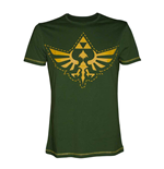Zelda - T-shirt, Stitched Triforce