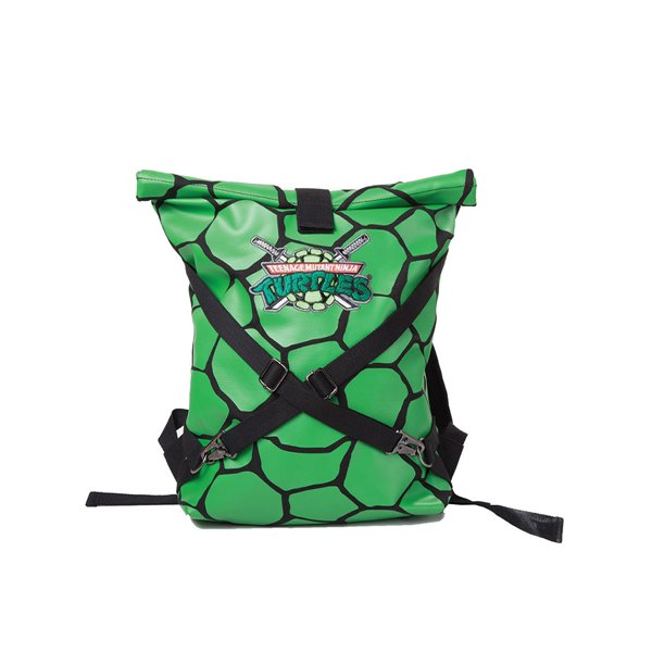 Turtles - Green Folded Backpack with Cross Strap