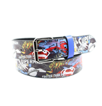 Superman - Full Printed Comics Logo Belt