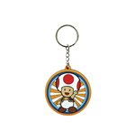 Nintendo - Toad Rubber Keychain