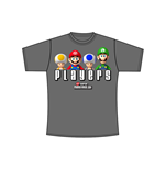Nintendo - Charcoal. SMB Players T-shirt