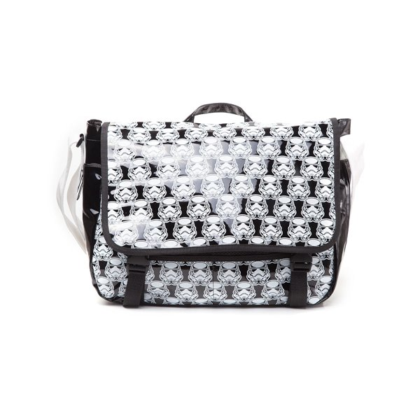 Star Wars - Storm Trooper Messenger Bag With Allover Print