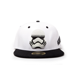 Star Wars - White Snapback With Storm Trooper Embroidery And Black Bill