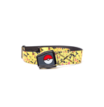 Pokémon - All Over Pikachu Airplane Belt with Poké Ball
