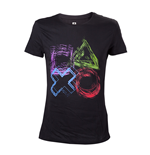 PlayStation - Sketched Controller Buttons T-shirt