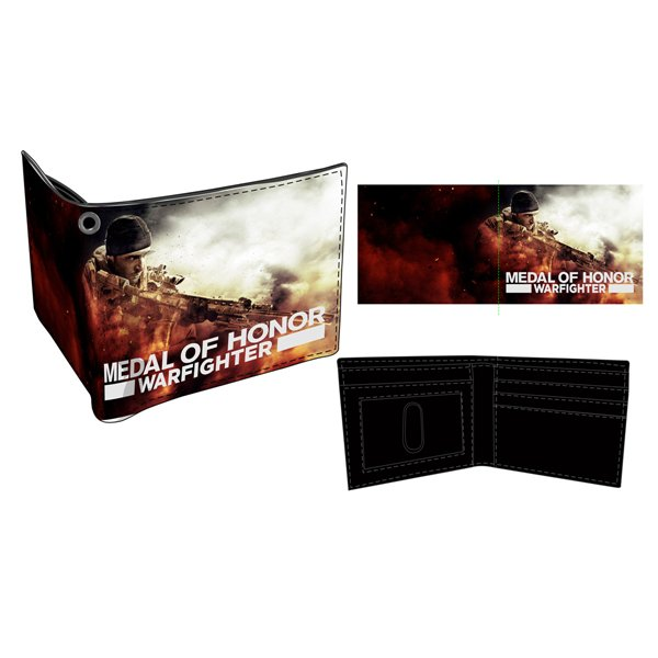 MOH Warfighter - Game Cover Bifold Wallet
