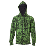 Marvel - The Hulk Comic Book Pattern Hoodie